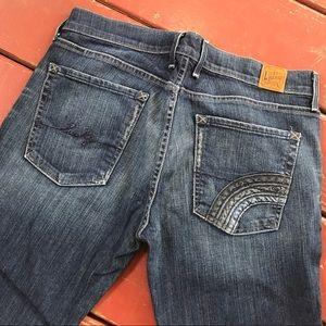 Lucky Brand Wide-Leg Jeans